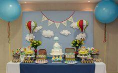 Festa de aniversário: Balões!