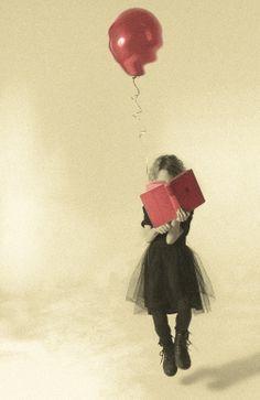 #reading #balloon #digitalphotography