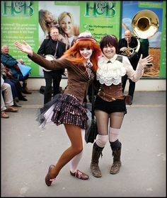 Steampunk Cabaret   Flickr - Photo Sharing! At the Whitby Goth Weekend