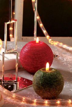 Vela perfumada de Natal - DIY, Christmas, Craft
