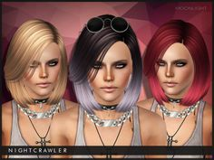 darkosims3:  Moonlight hair for all S3 lovers <3Hope u guys will like it XDDOWNLOAD