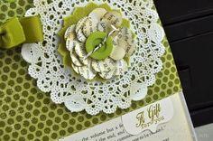 magazine flower.. love it