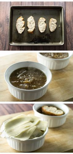 Warm and cozy French Onion Soup. Use your slow cooker to caramelize the onions overnight to save time!| girlgonegourmet.com