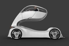 Honda Forklift, futuristic car, Hamit Kanuni Kuralkan, delivery vehicle