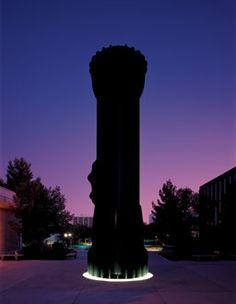 Flashlight, University of Nevada, Las Vegas, Coosje Van Bruggen, 1971