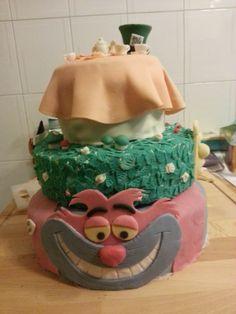 #Alice in Wonderland #Cake