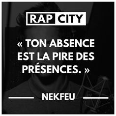 Nekfeu's 50 best punchlines – Bavece The Words, Cool Words, Rap Quotes, Life Quotes, Best Punchlines, Rap City, Bob Marley, Love Pain, Broken Quotes