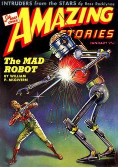 The Geeky Nerfherder: Sci-Fi, Fantasy & Horror Cover Art: Robert Fuqua Science Fiction Magazines, Science Fiction Art, Arte Sci Fi, Sci Fi Art, Art Nouveau, Art Deco, Steampunk, Pulp Fiction Comics, Retro Robot