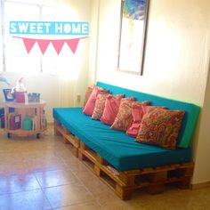 Sweet Home! Pallets DIY