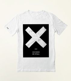 Divided We Stall Tee - White