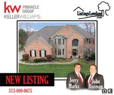 Oasis Golf Course Community Homes for Sale - 1641 Fairway Crest, Miami Twp, OH 45140 - http://www.listingsloveland.com/homes-in-loveland-ohio-warren-county-hamilton-county-clermont-county-sell-or-buy-a-house-in-loveland-ohio-real-estate-realtor/oasis-golf-course-community-homes-for-sale-1641-fairway-crest-miami-twp-oh-45140/