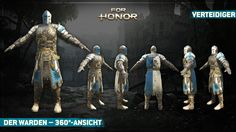 For Honor - The Warden - 360 Ansicht