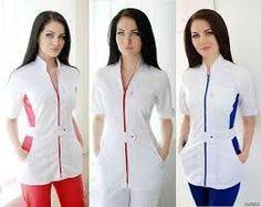 Resultado de imagen para modelos de mandiles de enfermeras