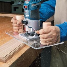 Trim Router Base Upgrade | Woodsmith Tips #WoodworkingTips