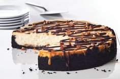 Ultimate Turtle Cheesecake recipe from Kraft.com ~ the ABSOLUTE BEST & easiest recipe ever!! I've been making it for years now. ♥♥♥Love it every time!!♥♥♥