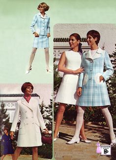 Retro fashion pictures from the and 70s Inspired Fashion, 60s And 70s Fashion, Teen Fashion, Retro Fashion, Vintage Fashion, Fashion Outfits, Retro Mode, Mode Vintage, 1960s Outfits