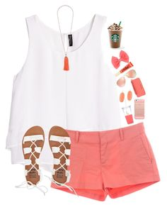 """Maryland lost......."" by lacrosse-19 ❤ liked on Polyvore featuring H&M, See by Chloé, Topshop, Kate Spade, Billabong, Kendra Scott, Casetify, Michael Kors, Ray-Ban and Too Faced Cosmetics"