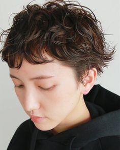 Pin on Hair Cool Short Hairstyles, Short Bob Hairstyles, Short Hair Styles, Natural Hair Styles, Hair Inspo, Hair Inspiration, Bob Perm, Japanese Hairstyle, Salon Style