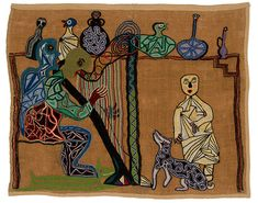 violeta parra dibujos - Búsqueda de Google World Painter, Arte Popular, Medieval Art, Outsider Art, Art Design, Embroidery Art, String Art, Great Artists, Textile Art