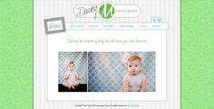 Darby M Photography website design by New Skin Media.  SmugMug Customization