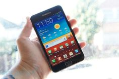 The other probable next phone.  Galaxy Note 2  (this is a pic of the first note)
