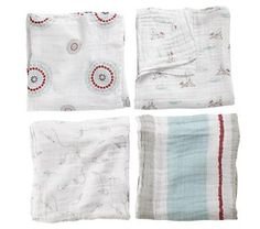 Baby Blankets: Aden and Anais Swaddling Blankets