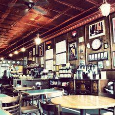 The Bitter End coffee shop. Grand Rapids, Michigan. Photo by onatabrabaim