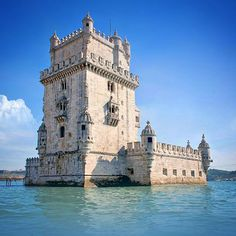 "A pic from our trip to Lisbon, Portugal. The is Torre de Belém. This ornate watchtower was built in the early 1500s to guard the harbour's entrance. It's a must-see, according to every guide—and we agree. It stands as a symbol of the Age of Discovery—and of Lisbon. Photo by TravelPlusStyle.com • See more in ""Uniquely Lisbon: five things to do in the city"": http://www.travelplusstyle.com/magazine/uniquely-lisbon-five-things-to-do-in-the-city •••••• #tower #monument"