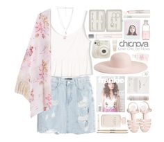"""Chicnova, child-of the-tropics P!nk"" by child-of-the-tropics ❤ liked on Polyvore featuring Chicnova Fashion, Forever 21, Fuji, Korres, John Lewis, Elie Saab, Dogeared, Crabtree & Evelyn, Dollhouse and Topshop"