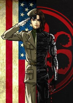 """When I first saw Winter Soldier, my family was like """"It's gonna be Bucky"""" and I just sat there like """"Wtf? Who's Bucky? Marvel Avengers, Marvel Dc Comics, Marvel Art, Marvel Heroes, Marvel Movies, Captain America, Die Rächer, Bucky And Steve, James Buchanan"""