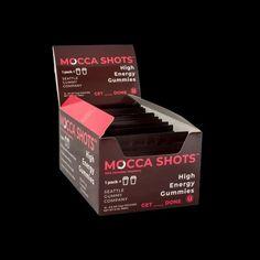 Mocca Shots Chocolate Raspberry Caffeine Gummy 12-pack 12x2 shots - Coffee vs Tea Macha Tea, Coffee Vs Tea, Premium Coffee, Energy Boosters, Vitamin B Complex, Natural Energy, High Energy, Caffeine, Herbalism