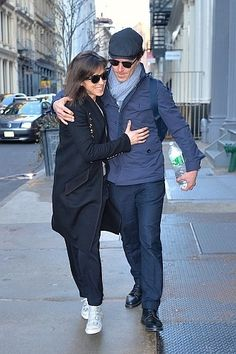 1600 pixels - 2016 04 03 - NYC - Walking to their Sprinter van by Gachie  Open in new tab / window for the source in                 [1066 x 1600 pixels]                 !  EXCLUSIVE: Benedict Cumberbatch and wife Sophie Hunter seen out in NYC smiling and holding each other while walking to their Sprinter van.  X from here