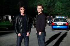 Pin for Later: 38 Pop-Culture Halloween Costumes For Brothers Damon and Stefan Salvatore From The Vampire Diaries