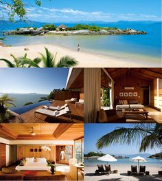 ponta dos ganchos resort is near florianopolis in the state of santa catarina in brazil. the waters are caribbean blue and the resort is one of the nicest places to stay in all of brazil    http://www.pontadosganchos.com.br/pt-br/home