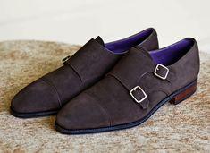 ' — Double Monks Gentleman's Essentials Men S Shoes, Shoes Sneakers, Gentleman Shoes, Funky Shoes, Simple Shoes, Monk Strap Shoes, Casual Boots, Shoe Collection, Suede Boots