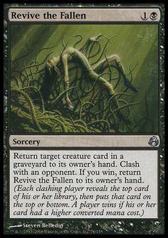 Revive The Fallen - Sorcery - Skull - Black - Morningtide - Magic The Gathering Trading Card