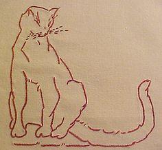 Farm Quilt Block #12 (lasassone) Tags: embroidery redwork rubymckim farmquilt