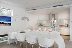 Dining Room, white and minimalist decor