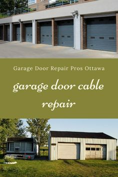 Garage Door Stuck or Won't Open? Don't Worry, Our Team Is Standing By To Help You. Garage Door Cable, Garage Door Repair, Garage Doors, Ontario, Outdoor Decor, Home Decor, Decoration Home, Room Decor, Home Interior Design