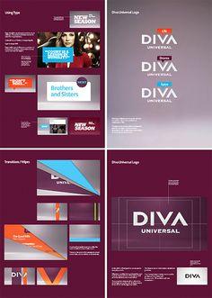 Identidade Visual: Diva Universal