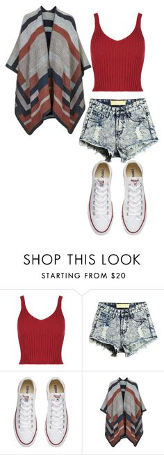 """""""Untitled #542"""" by jujuxx33 ❤ liked on Polyvore featuring Converse and Topshop"""