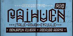 Paihuen Pro - Webfont & Desktop font « MyFonts