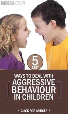 your child is expected to manage his emotions and control them when they are in school. The earlier you guide your little one, the better are the chances for him to cope with aggression.