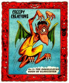 Creepy Creations by Ken Reid
