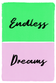Modern 'Endless Dreams' Typography Print  #typography #handdrawn #artprint #gallerywall #inspiringquote Art Prints Quotes, Typography Prints, Hammer Logo, Dream Art, Wedding Frames, Minimalist Poster, Neutral Colors, How To Draw Hands, Abstract Art
