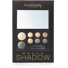Forever 21 Baked Metallic Eye Shadow Palette (23 ILS) ❤ liked on Polyvore featuring beauty products, makeup, eye makeup, eyeshadow, beauty, palette eyeshadow, metallic eye shadow, forever 21, metallic eyeshadow and eye shimmer makeup