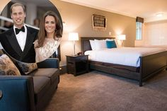 La romántica cita de noche de los Duques de Cambridge en su cuarto día de gira en Canadá: vea su 'suite' del hotel