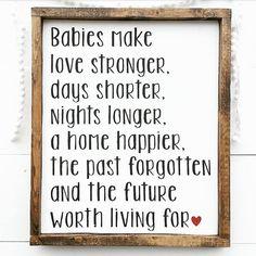 Baby Farmhouse Farmhouse Nursery Woodland by ThreeArrowsCo Cool Baby, Cuadros Diy, Baby Makes, Everything Baby, Lettering, Baby Time, Woodland Nursery, Girl Nursery, Nursery Art