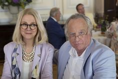 """MADOFF - Get a look into the mind of the man who pulled off one of the greatest cons in history in the primetime miniseries """"Madoff,"""" airing FEBRUARY 3-4, 2016 (8:00 – 10:00 p.m., ET) on the ABC Television Network. (ABC/Eric Liebowitz) BLYTHE DANNER, RICHARD DREYFUSS"""