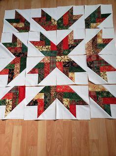 Pattern Blocks, Quilt Patterns, Quilt Of Valor, White Quilts, Star Quilt Blocks, Illusions, Anna, Quilting, Craft Ideas